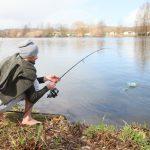 karpervissen aan de lot in Frankrijk