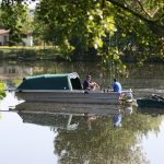 Bootsfischen in Frankreich