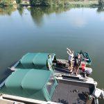 das größte Karpfenboot bei Lot Experience
