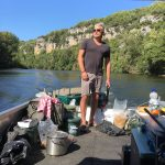 boat fishing for carp in the ultimate environment