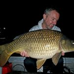 Jeroen with a high-built common of the river.