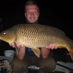 fat carp from the boat