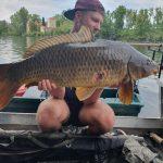 Frankreich-Flussfischen