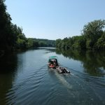 boat fishing with a chance of carp river Lot