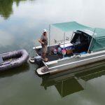 Luxe boot Lot Experience vissen