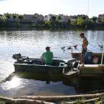 urban karper vissen rivier de Lot
